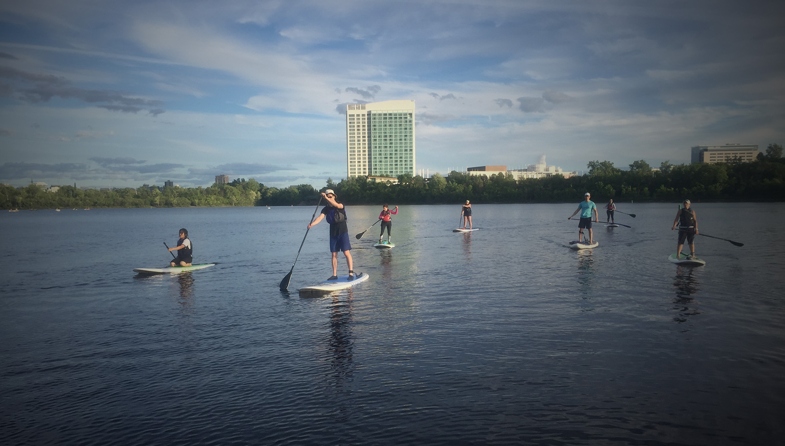 SUP Tour Lac Leamy
